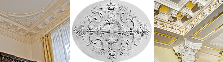 Классификация лепнины и лепного декора