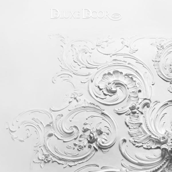 розетка лепная барокко