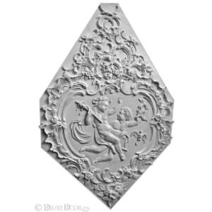 Лепной картуш Рококо Эрмитаж 03