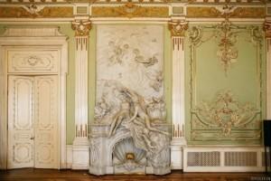 Особняк А.Ф. Кельха. Лепнина, скульптура, резной декор, алфрейная живопись, витражи, камины.