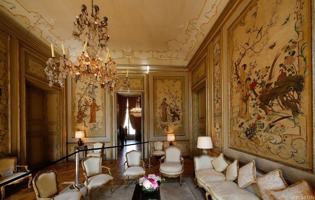 Интерьеры особняка де Ларошфуко-Дудовиль в Париже. Французское и итальянское барокко.